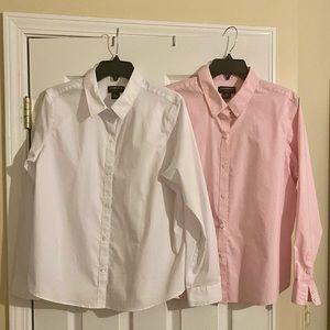 Liz Claiborne wrinkle free button down shirts
